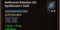 Battlement Battalion 623 Spellbinder's Staff