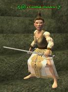 A Gunthak plunderer (Forsaken City) (gnome)