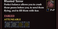 Blunted Terror