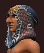 Vesspyr Scholar's Blue Cowl (Equipped)