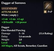 Dagger of Sorrows
