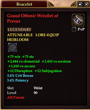 Grand Othmir Wristlet of Prexus