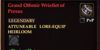 Grand Othmir Wristlet of Prexus