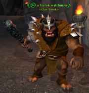 A Terrok watchman