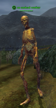 An undead worker (Thundering Steppes)