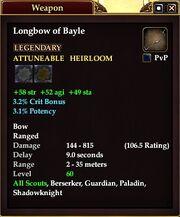 Longbow of Bayle