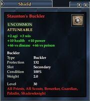 Staunton's Buckler