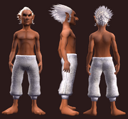 Adept's Woven Leggings (Equipped)