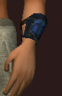 Arctic Frostwind Oracle's Wristguard (Equipped)