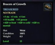 Bracers of Growth