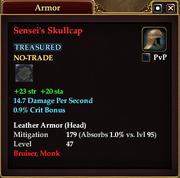 Sensei's Skullcap