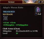 Adept's Woven Robe