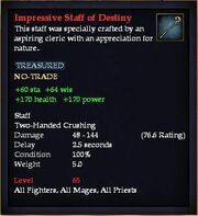 Impressive Staff of Destiny