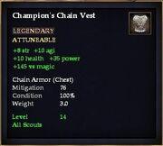 Champion's Chain Vest