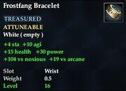 Frostfang Bracelet