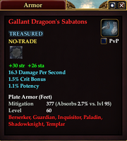 Gallant Dragoon's Sabatons