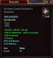 Swamp Coated Scholar's Manacle