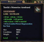 Terrik's Moonrise Armband