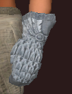 Curate's Plate Gloves of the Zealous (Equipped)