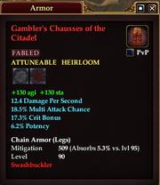 Gambler's Chausses of the Citadel