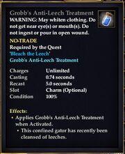 Grobb's Anti-Leech Treatment