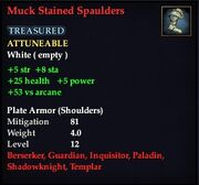Muck Stained Spaulders