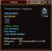 Thaumaturge's Leggings