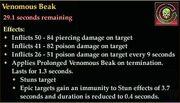 Venomous Beak