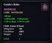 Guide's Robe