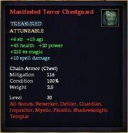 Manifested Terror Chestguard