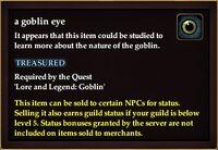 A goblin eye