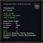Chained Pants of the Fearless