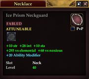 Ice Prism Neckguard