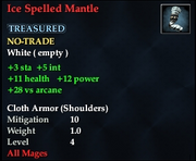 Ice Spelled Mantle