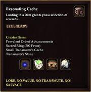Resonating Cache