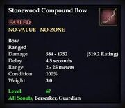 Stonewood Compound Bow (TBoCH Good)