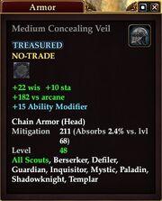 Medium Concealing Veil