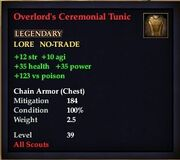Overlord's Ceremonial Tunic