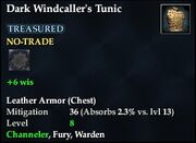 Dark Windcaller's Tunic