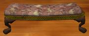 Red damask bench (Visible)