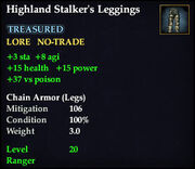Highland Stalker's Leggings