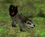 An underbrush fiend
