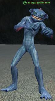 Aqua goblin runt