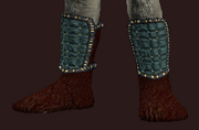 Exquisite woven boots (Equipped)