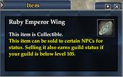 Ruby Emperor Wing
