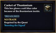 Casket of Thuntonium