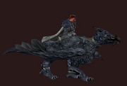 Glacia, Dark Gryphon (equipped)