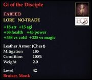 Gi of the Disciple