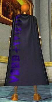 Cloak of Runes Equipped