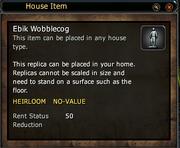 Ebik Wobblecog - Replica
